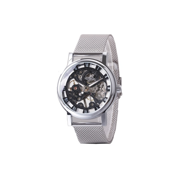 Ceas Winner Win120 Mecanic Automatic Thin Silver Men