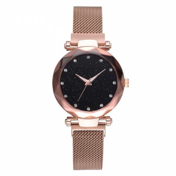 Ceas Lux03 Luxary Diamond Lady Rose