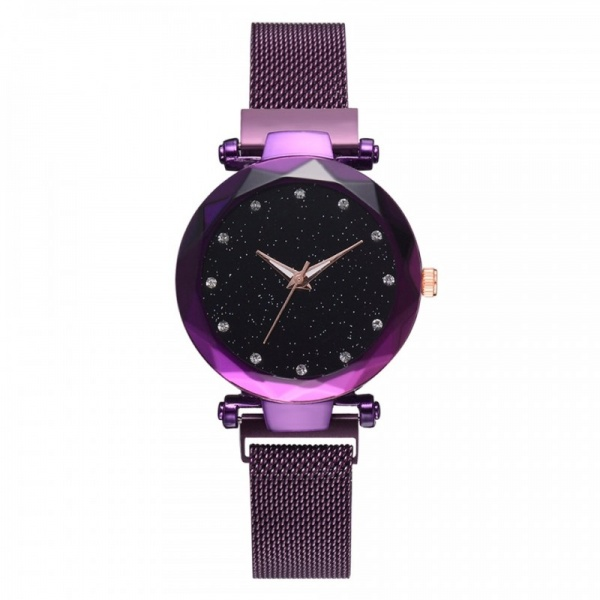 Ceas Lux04 Luxary Diamond Lady Purple