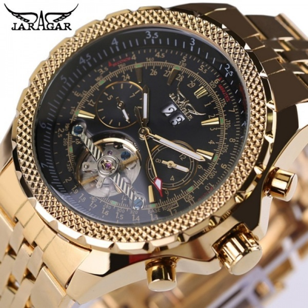 CEAS JARAGAR JAR015 TOURBILLION GOLD